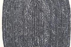 PET KILIM-Charcol-Oval