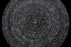 PET KILIM-Charcol redonda