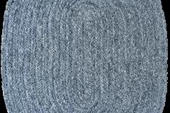 PET KILIM Grey-Oval